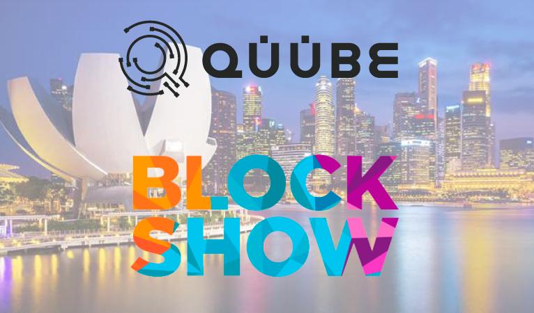 QUUBE Exchange to Sponsor Blockchain Conference Blockshow Asia 2019