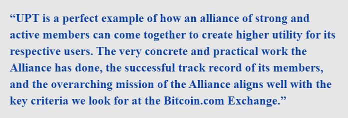 Head of Bitcoin.com Exchange, David Shin said that