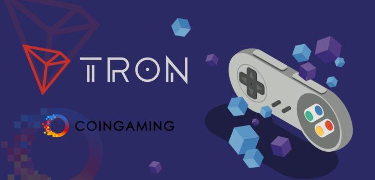 TRON Foundation Partners With Coingaming