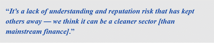 Sean Kiernan, that chief executive officer, said that