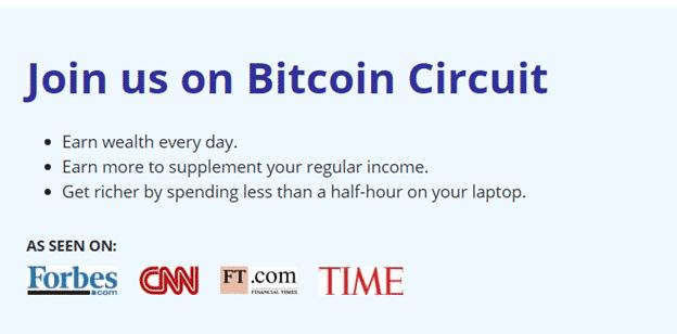 Bitcoin Circuit Reviews - Join Bitcoin Circuit Now!