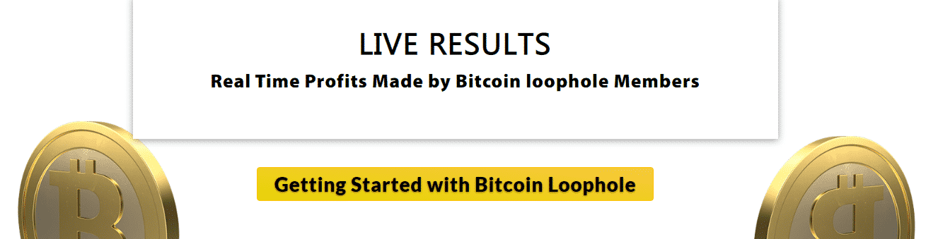 Live Result at Bitcoin Loophole
