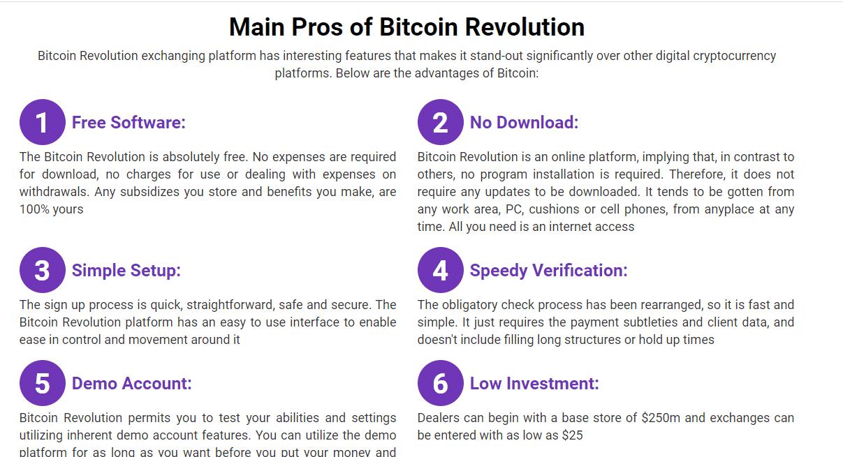 Review Bitcoin Revolution Benefits