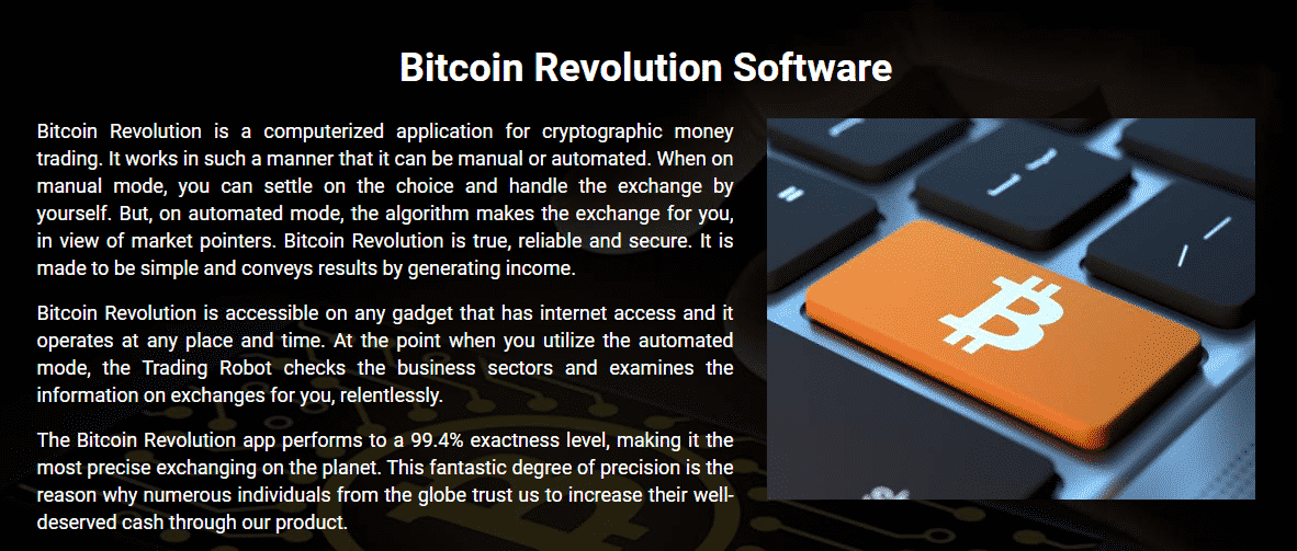 Review Bitcoin Revolution Defined